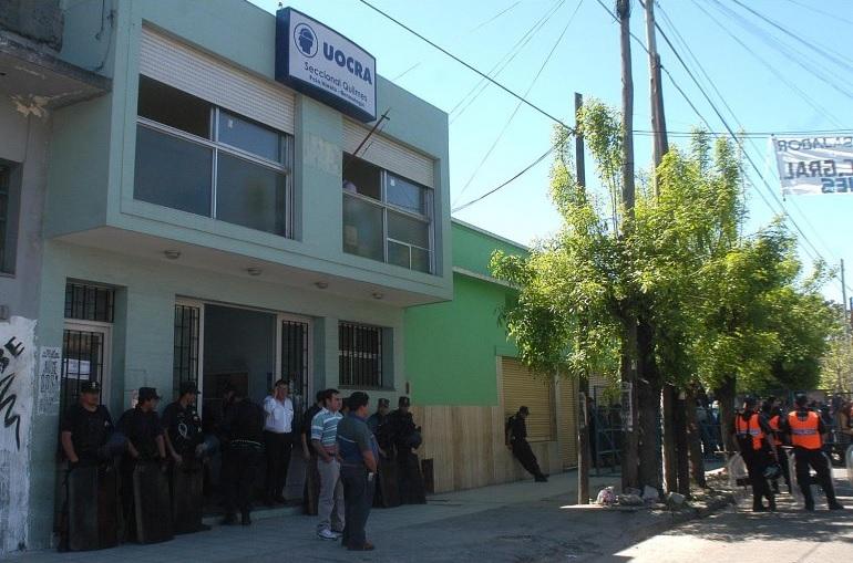 La UOCRA intervino la Seccional Quilmes tras denuncias de afiliados -MUNICIPIOS - PanoramaBA